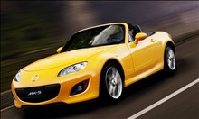 yellow mazda hot pic