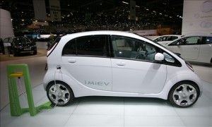 imiev green car
